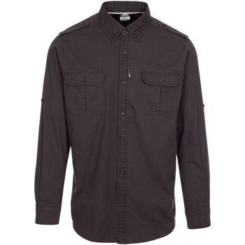 textil Herr T-shirts & Pikétröjor Trespass  Mörkgrå