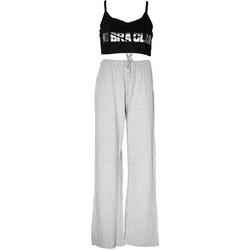 textil Dam Pyjamas/nattlinne Forever Dreaming  Grå/Svart