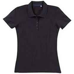 textil Dam T-shirts & Pikétröjor Stedman Stars  Svart opal