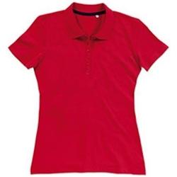 textil Dam T-shirts & Pikétröjor Stedman Stars  Crimson Red