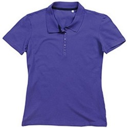 textil Dam T-shirts & Pikétröjor Stedman Stars  Djupt lila