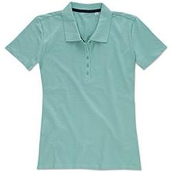 textil Dam T-shirts & Pikétröjor Stedman Stars  Frostat blå