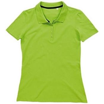 textil Dam T-shirts & Pikétröjor Stedman Stars  Grön blixt