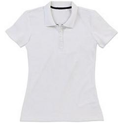 textil Dam T-shirts & Pikétröjor Stedman Stars  Vit