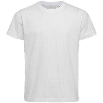 textil Barn T-shirts & Pikétröjor Stedman Stars  Vit