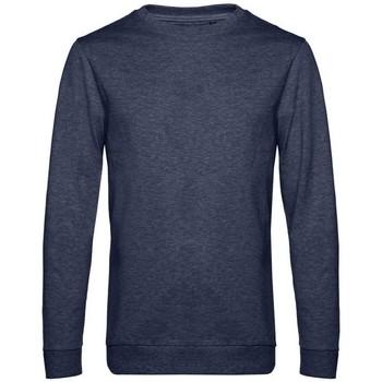 textil Herr Sweatshirts B&c WU01W Marinblått