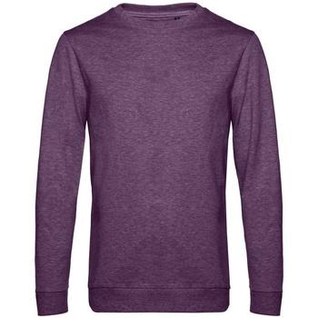 textil Herr Sweatshirts B&c WU01W Lila ljung