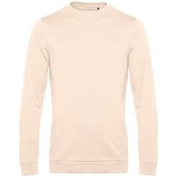 textil Herr Sweatshirts B&c WU01W Ljusrosa