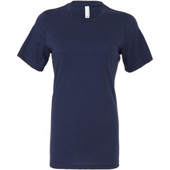 textil Dam T-shirts & Pikétröjor Bella + Canvas BE6400 Marinblått