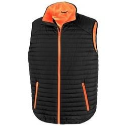 textil Koftor / Cardigans / Västar Result R239X Svart/orange