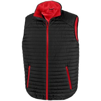 textil Koftor / Cardigans / Västar Result R239X Svart/röd