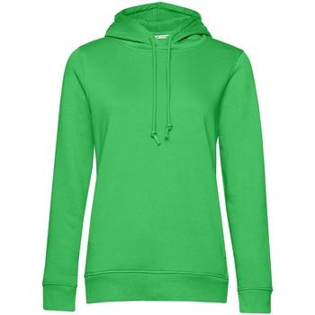 textil Dam Sweatshirts B&c WW34B Äppelgrönt