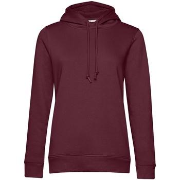 textil Dam Sweatshirts B&c WW34B Bourgogne