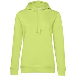 textil Dam Sweatshirts B&c WW34B Lime Green