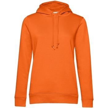 textil Dam Sweatshirts B&c WW34B Orange