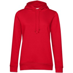 textil Dam Sweatshirts B&c WW34B Röd