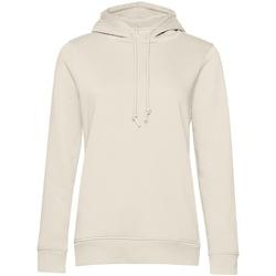 textil Dam Sweatshirts B&c WW34B Off White