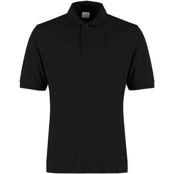textil Herr T-shirts & Pikétröjor Kustom Kit KK460 Svart