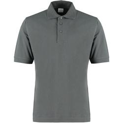 textil Herr T-shirts & Pikétröjor Kustom Kit KK460 Mörkgrå