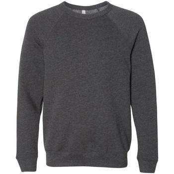 textil Sweatshirts Bella + Canvas CA3901 Mörkgrått ljummet