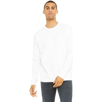 textil Sweatshirts Bella + Canvas CA3945 Vit
