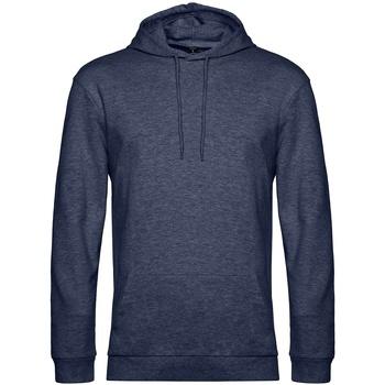 textil Herr Sweatshirts B&c WU03W Marinblått ljung