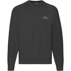textil Herr Sweatshirts Fruit Of The Loom 12202J Svart