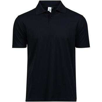 textil Herr T-shirts & Pikétröjor Tee Jays TJ1200 Svart