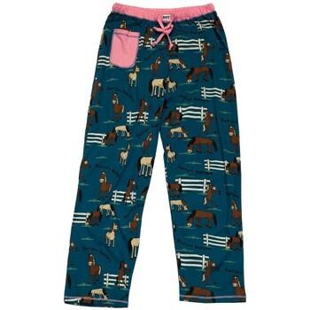 textil Dam Pyjamas/nattlinne Lazyone  Blå