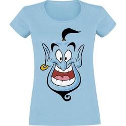 textil Dam T-shirts Aladdin  Blå