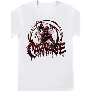 textil T-shirts Spiderman  Vit