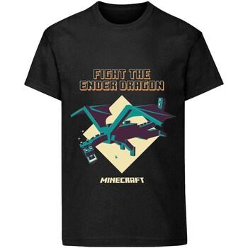 textil Barn T-shirts Minecraft  Svart