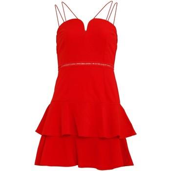 textil Dam Korta klänningar Girls On Film  Tomat röd
