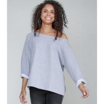 textil Dam Sweatshirts Mantis M128 Heather Marl