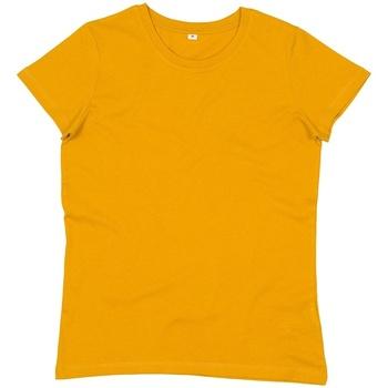 textil Dam T-shirts Mantis M02 Senap