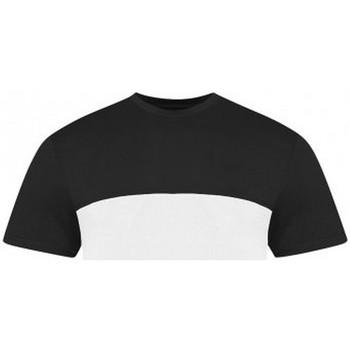 textil T-shirts Awdis JT110 Vit/Svart
