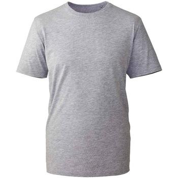 textil T-shirts Anthem AM10 Grått