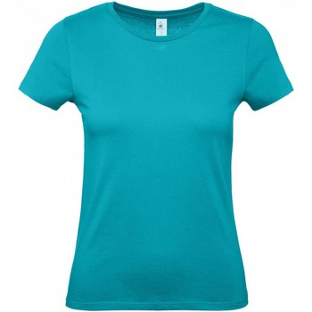 textil Dam T-shirts B And C B210F Riktig turkos