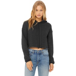 textil Dam Sweatshirts Bella + Canvas BE7502 Mörkgrått ljummet