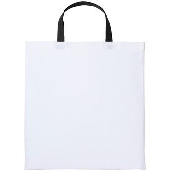 Väskor Handväskor med kort rem Nutshell RL130 Vit/Svart