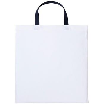 Väskor Handväskor med kort rem Nutshell RL130 Vit/Oxford Navy