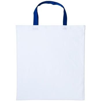 Väskor Handväskor med kort rem Nutshell RL130 Vit/Royalblå