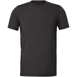 textil T-shirts Bella + Canvas CV011 Mörkgrått ljummet