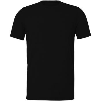 textil T-shirts Bella + Canvas CV011 Svart ljung