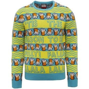 textil Herr Sweatshirts Christmas Shop CJ008 Gul/grön