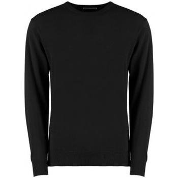 textil Herr Sweatshirts Kustom Kit KK253 Svart