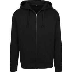textil Herr Sweatshirts Build Your Brand BY085 Svart