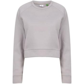 textil Dam Sweatshirts Tombo  Ljusgrå