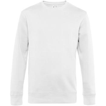 textil Herr Sweatshirts B&c  Vit