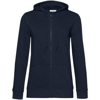 textil Dam Sweatshirts B&c  Marinblått